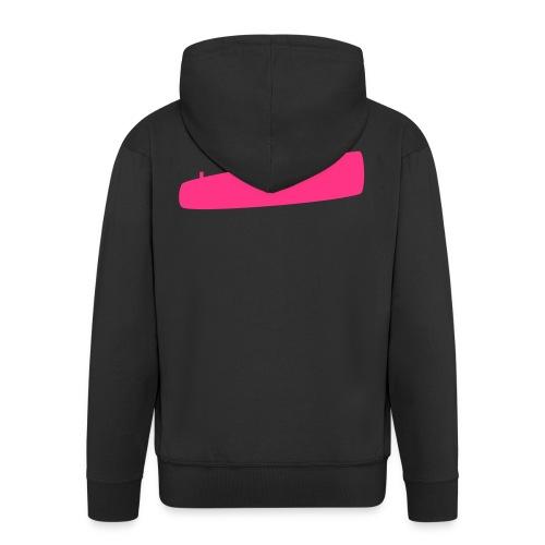 Rosa U-Boot - Männer Premium Kapuzenjacke