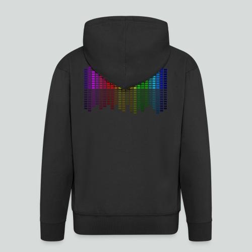 Farbequalizer - Männer Premium Kapuzenjacke