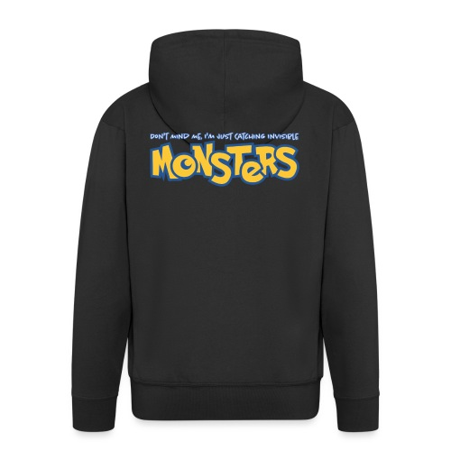 Monsters - Men's Premium Hooded Jacket