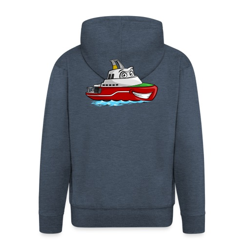 Boaty McBoatface - Men's Premium Hooded Jacket