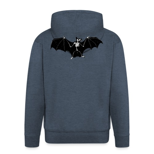 Bat skeleton #1 - Men's Premium Hooded Jacket