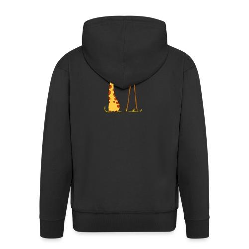 Maglietta San Valentino Tenera | con Animali - Felpa con zip Premium da uomo