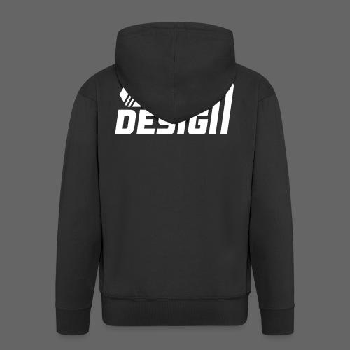StenDesign T-Shirt - Men's Premium Hooded Jacket