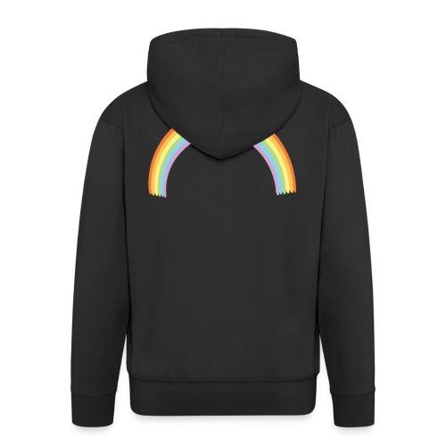 Arco Iris - Chaqueta con capucha premium hombre