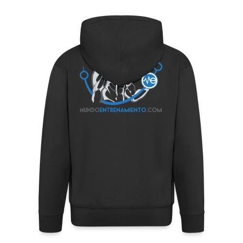 Camiseta de deporte MundoEntrenamiento.com - Chaqueta con capucha premium hombre