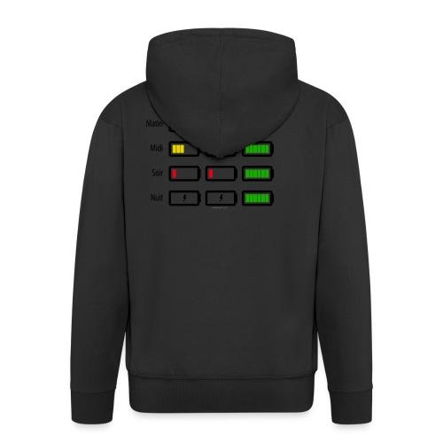 Low battery ! - Veste à capuche Premium Homme