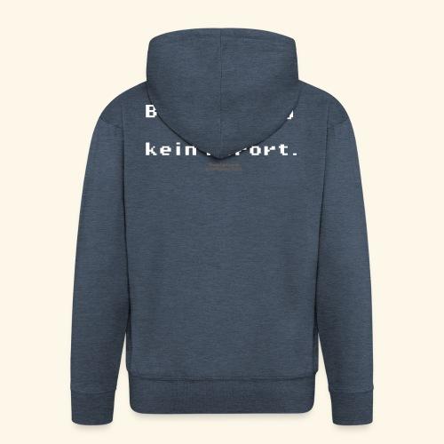 Geek T Shirt Bad Gateway für Admins & IT Nerds - Männer Premium Kapuzenjacke