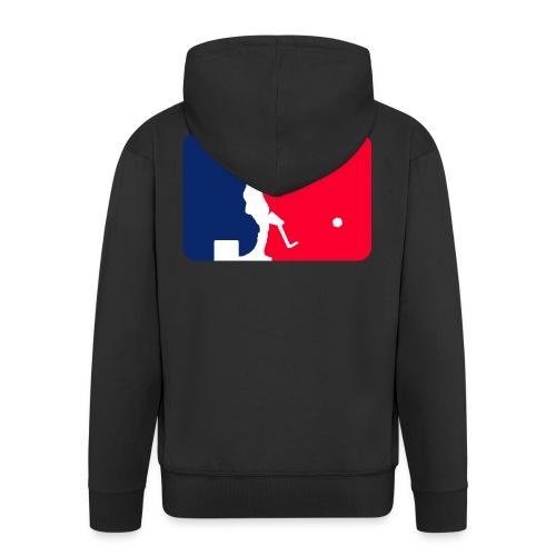 Major League Tipp-Kick Shirt - Männer Premium Kapuzenjacke