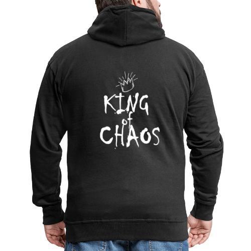 King of Chaos Tshirt ✅ - Männer Premium Kapuzenjacke