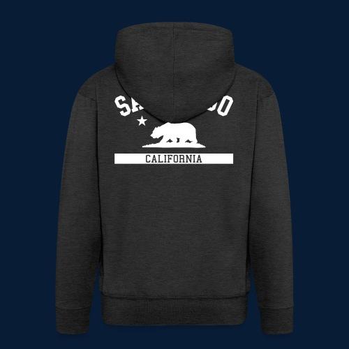 San Diego - Männer Premium Kapuzenjacke
