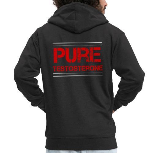 Sport - Pure Testosterone - Männer Premium Kapuzenjacke
