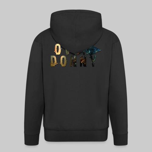 Over Donny [Arrow Version] - Felpa con zip Premium da uomo