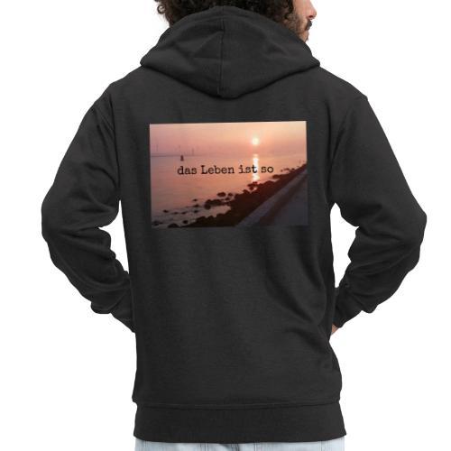 Sunset dLis - Männer Premium Kapuzenjacke