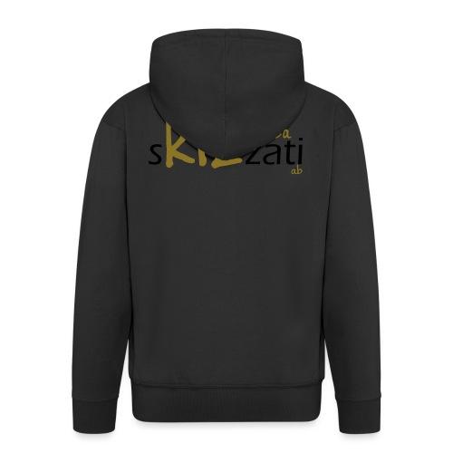 Top classico sKizzati Kizomba Donna verde fluo - Felpa con zip Premium da uomo