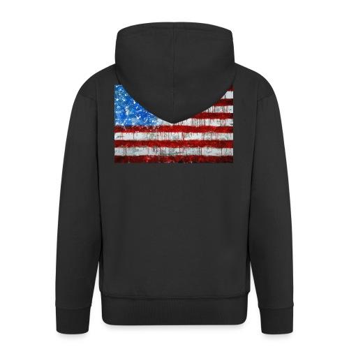 USA - Chaqueta con capucha premium hombre