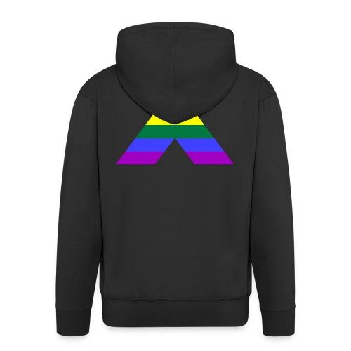 Straight Ally Flag - Männer Premium Kapuzenjacke