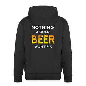 Nothing a Cold Beer Won't Fix - Premium-Luvjacka herr