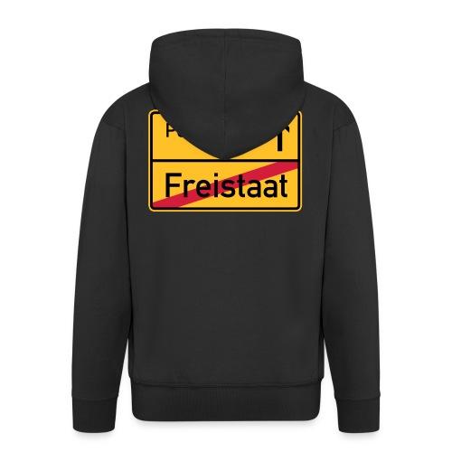 Freistaat Bayern Polizeistaat - Männer Premium Kapuzenjacke