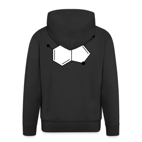 Serotonine - Felpa con zip Premium da uomo
