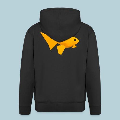 RATWORKS Fish-Smish - Men's Premium Hooded Jacket