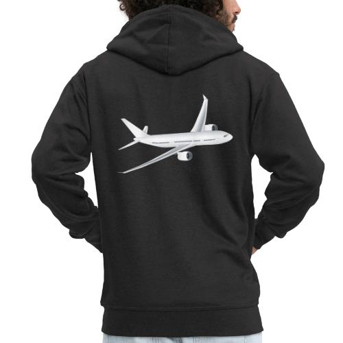 Flugzeug - Männer Premium Kapuzenjacke