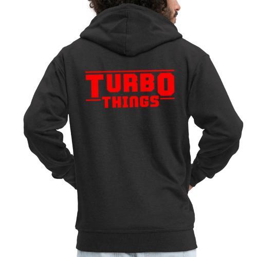 Turbo Things Tuner Mechaniker Auto Shirt Geschenk - Männer Premium Kapuzenjacke