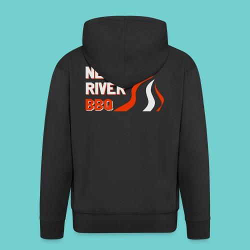 Neckar River BBQ Tasse - Männer Premium Kapuzenjacke