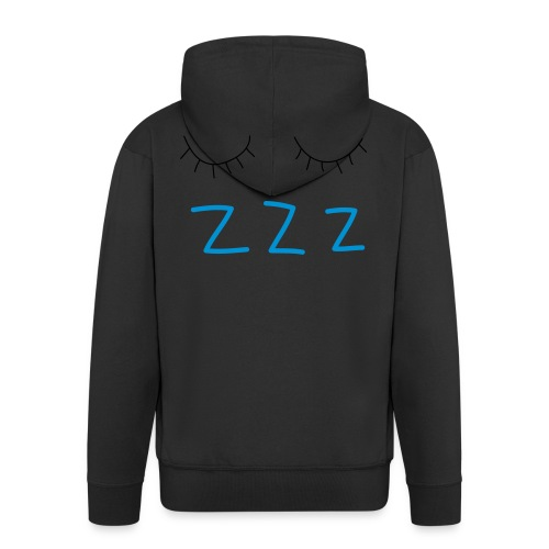 sleep - Men's Premium Hooded Jacket