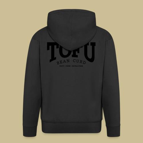 Tofu (black) - Männer Premium Kapuzenjacke
