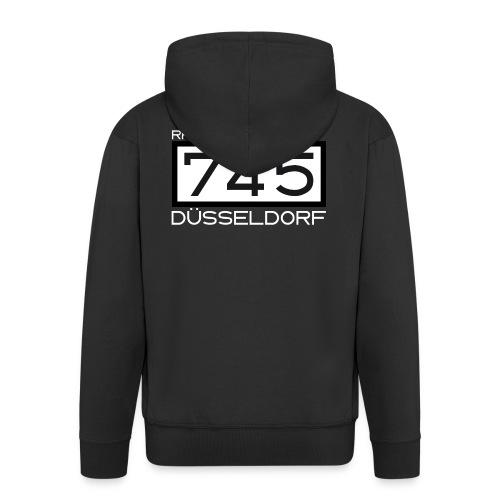 745-RK-Duesseldorf weiss - Männer Premium Kapuzenjacke