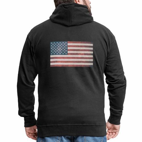 USA - Männer Premium Kapuzenjacke