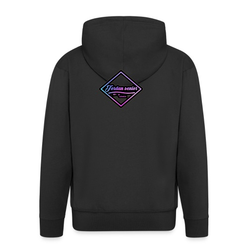jordan sennior logo - Men's Premium Hooded Jacket