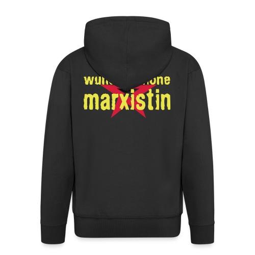 wunderschoene marxistin - Männer Premium Kapuzenjacke