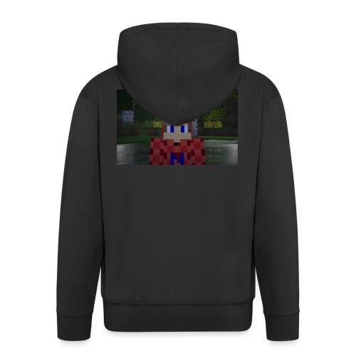 Mein Minecraft-Skin - Männer Premium Kapuzenjacke
