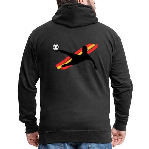 futbol españa - seleccion - jugador de futbol - Chaqueta con capucha premium hombre