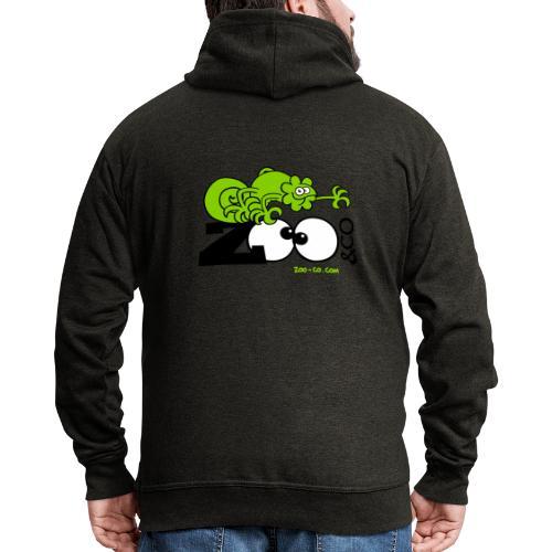 Zooco Chameleon - Men's Premium Hooded Jacket