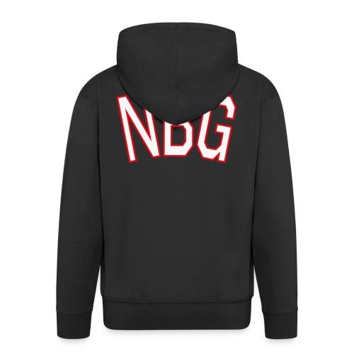 NBG College - Männer Premium Kapuzenjacke
