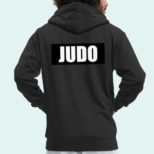 Judo Schwarz DAN - Männer Premium Kapuzenjacke