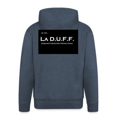 Je Suis La D.U.F.F. Shirt female - Mannenjack Premium met capuchon