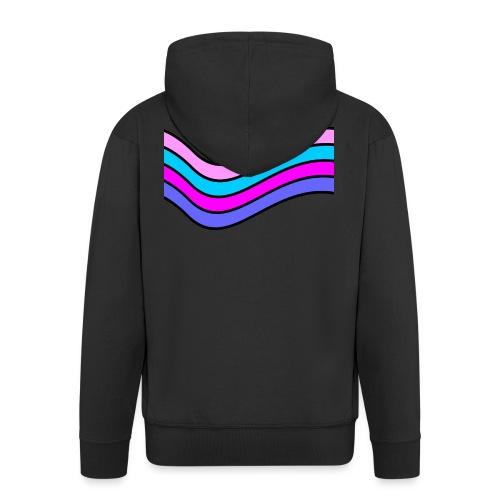 Wave - Men's Premium Hooded Jacket