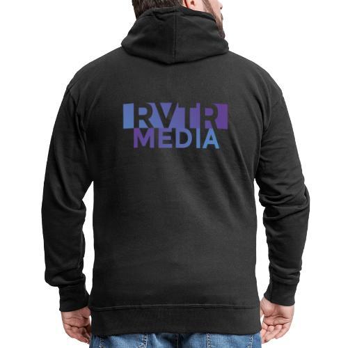 RVTR media NEW Design - Männer Premium Kapuzenjacke