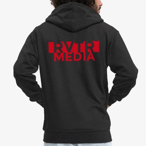 RVTR media red - Männer Premium Kapuzenjacke