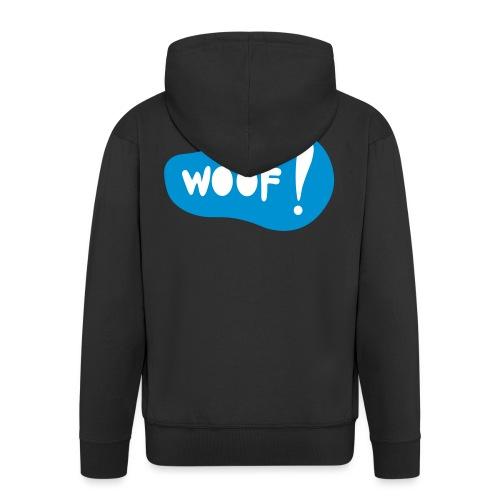 Woof! T-Shirt - Männer Premium Kapuzenjacke