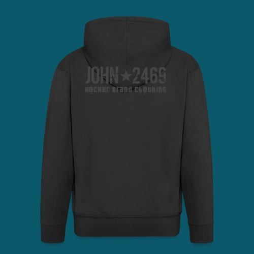 JOHN2469 prova per spread - Felpa con zip Premium da uomo