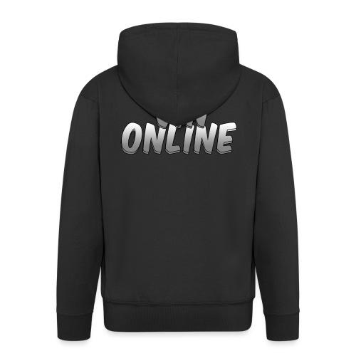 VinOnline T;shirt - Mannenjack Premium met capuchon