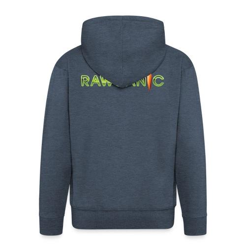 100% Rawganic Rohkost Möhre - Männer Premium Kapuzenjacke
