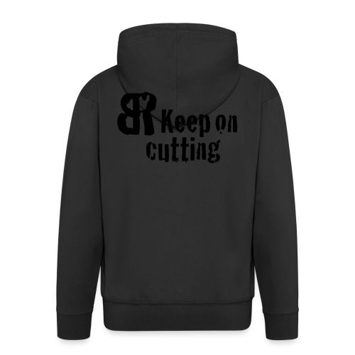 keep on cutting 1 - Männer Premium Kapuzenjacke