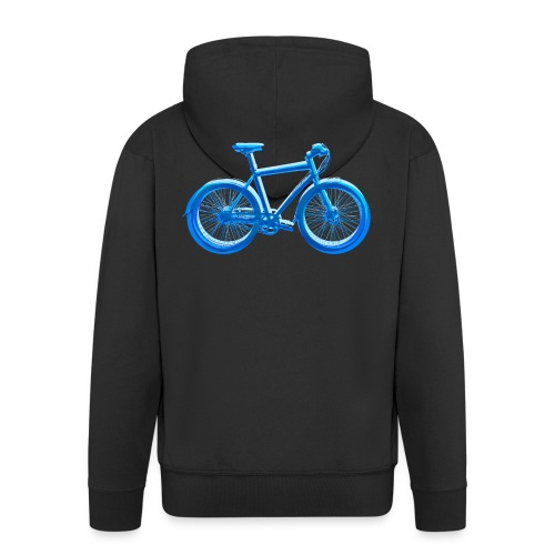 Fahrrad Bike Outdoor Fun Radsport Radtour Freiheit - Men's Premium Hooded Jacket