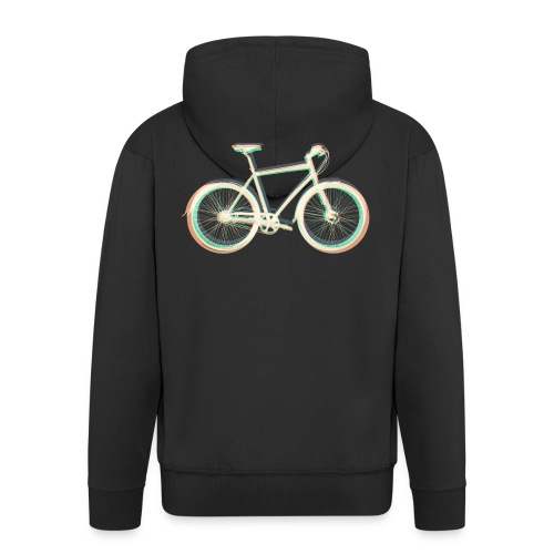 Fahrrad Bike Outdoor Fun Radsport Radtour Freiheit - Men's Premium Hooded Jacket