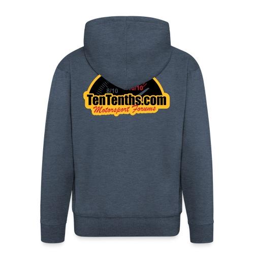 3Colour_Logo - Men's Premium Hooded Jacket
